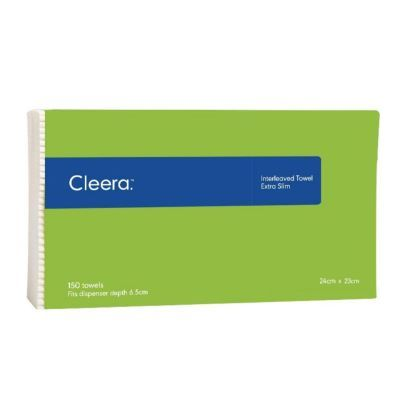 Cleera Interleaved Hand Towel