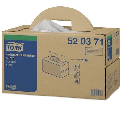 Tork Premium 520 Grey Folded Cloths Box 280