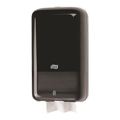 Tork® Folded Toilet Paper Dispenser Black