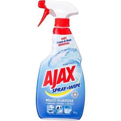 Ajax Spray N Wipe Ocean Fresh Antibacterial