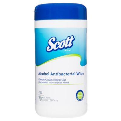 Scott Antibacterial Wipe Tub