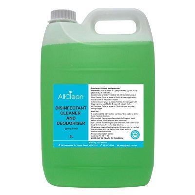 AllClean Disinfectant Cleaner & Deodoriser Disinfectant Spring Fresh