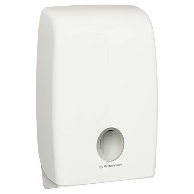 Aquarius Multifold Hand Towel Dispenser White