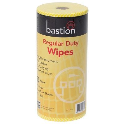 Regular Duty Wipes 45m Roll 90 Pieces