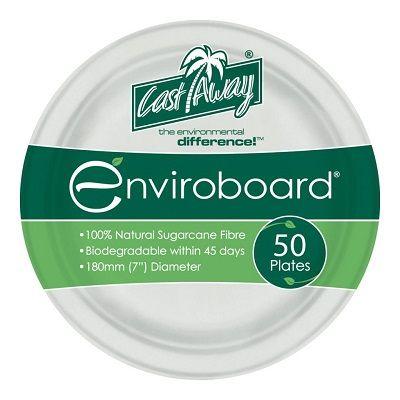 Castaway Enviroboard Round Side Plate