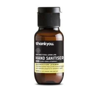 Hand Sanitiser Lemon & Lime 50ml