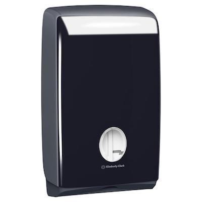 Aquarius Dispenser Compact Towel Black