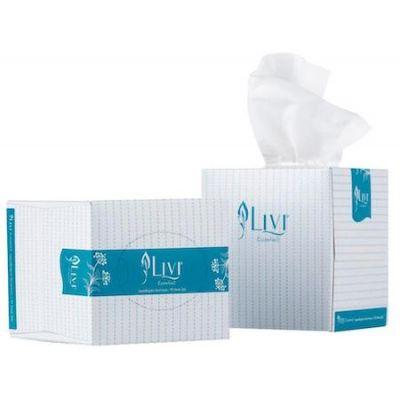 Livi ® Essentials Facial Tissues Cube