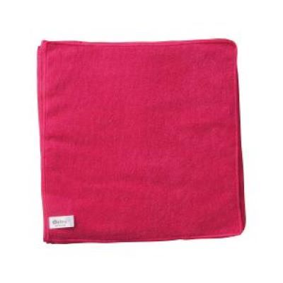 Oates Microfibre Cloths Red