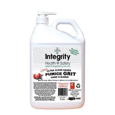 Integrity Health Indigenous Pumice Grit Hand Scrub