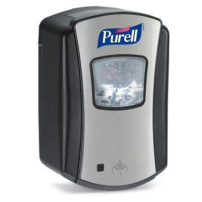 Purell Chrome/Black Ltx Touch Free Dispenser 700ml