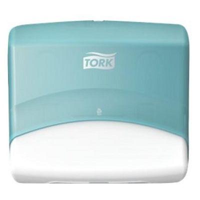 Tork Dispenser W4 White/Turquoise