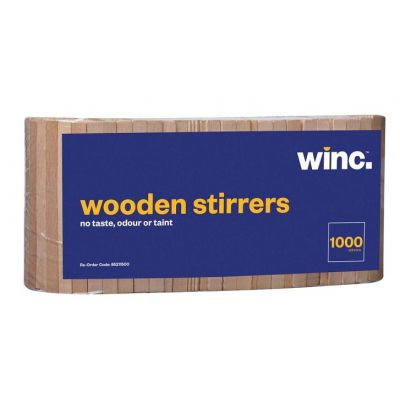 Winc Wooden Stirrers Natural