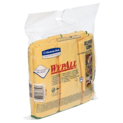 Wypall Microfibre Cloths Yellow